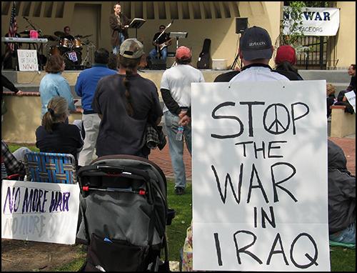 Iraq War Demo