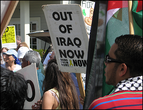 Iraq War Demo