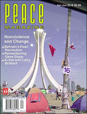 Peace Magazine cover