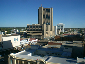 Bulawayo central business district